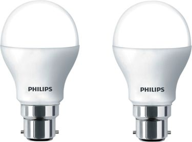 Philips 10.5 W LED Bulb B22 warm white (pack of 2) Price in India