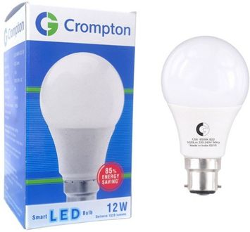 Crompton 12 W LED Bulb  Cool Daylight B22 White (Pack of 4) Price in India