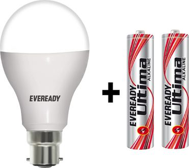 Eveready 14 W LED 6500K Cool Day Light Bulb B22 White Price in India
