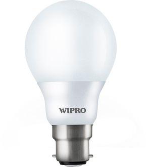 Wipro 5 W Garnet LED N50001 6500K Cool DayLight Bulb B22 White Price in India