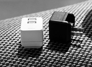 Rock Mini Tank 2.4A Dual USB Travel Adapter Price in India