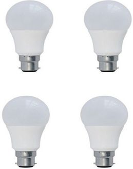 Syska 5 W LED Bulb B22 yellow (Pack Of 4) Price in India