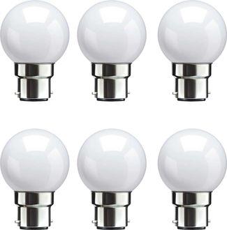 Syska 0.5 W LED Bulb B22 White (pack of 6) Price in India