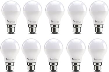 Syska 7 W B22 LED Bulb (Yellow, pack of 10) Price in India