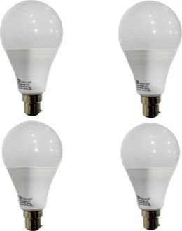 Syska 12 W B22 PAG LED Bulb (White, Pack of 4) Price in India