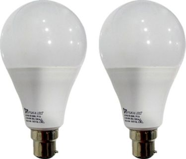 Syska 12 W B22 PAG LED Bulb (White, Pack of 2) Price in India