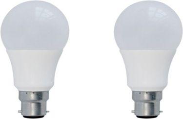 Syska 3 W B22 LED Bulb (Warm White, Plastic, Pack of 2) Price in India