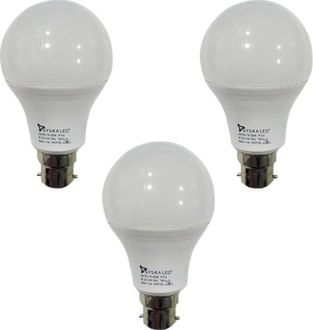 Syska 7 W B22 PAG LED Bulb (White, Plastic, Pack of 3) Price in India