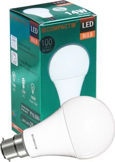 Compact 14W B22 LED Bulb (Warm White) Price in India