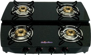 Surya Flame Stepper Gas Cooktop (4 Burner) Price in India