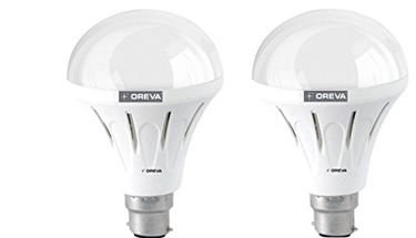 Oreva 10W ECO LED Bulb (Cool Day Light , pack of 2) Price in India