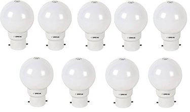 Oreva 1W LED Bulb (Cool Day Light , pack of 9) Price in India