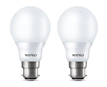 Wipro 7W Garnet LED Bulb (Cool Day Light , pack of 2) Price in India