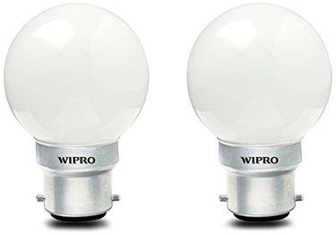 Wipro 0.5W LED Bulb (Cool Day Light , pack of 2) Price in India
