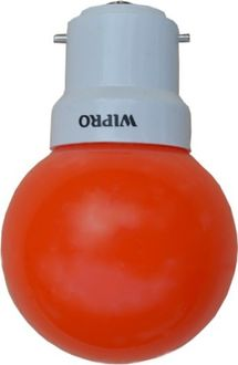 Wipro 0.5W LED Bulb (Red , pack of 3) Price in India