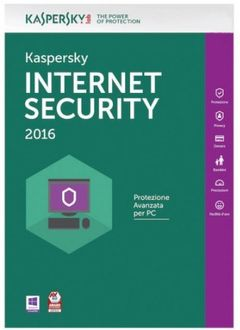 Kaspersky Internet Security 2016 2 PC 1 Year Price in India
