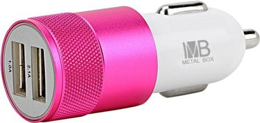 Metal Box MBCC25 2.1A Dual USB Car Charger Price in India