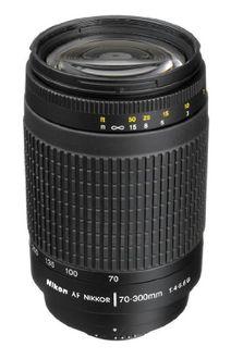 Nikon AF Zoom-Nikkor 70-300mm f/4-5.6G (4.3x) Lens Price in India