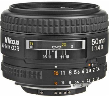 Nikon AF Nikkor 50mm f/1.4D Lens Price in India