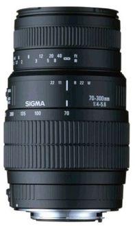 Sigma 70-300mm F/4-5.6 DG Macro Lens (for Nikon DSLR) Price in India