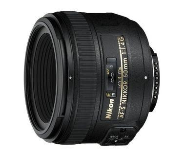 Nikon AF-S NIKKOR 50mm F/1.4G Lens Price in India