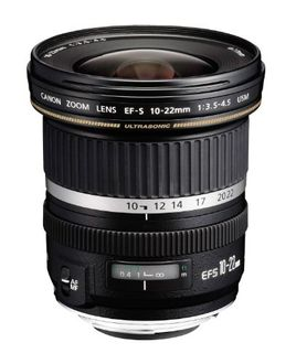 Canon EF-S 10-22mm f/3.5-4.5 USM Lens Price in India