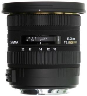 Sigma 10-20mm F/3.5 DC Lens (for Canon DSLR) Price in India