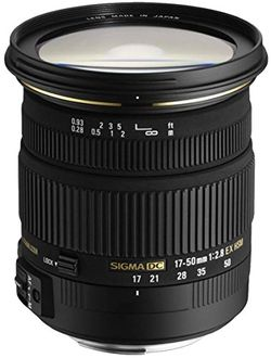 Sigma 17-50mm F/2.8 EX DC OS Lens (for Canon DSLR) Price in India