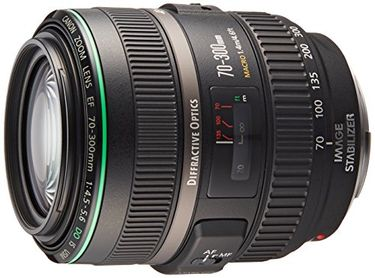 Canon EF 70-300mm f/4.5-5.6 DO IS USM Lens Price in India