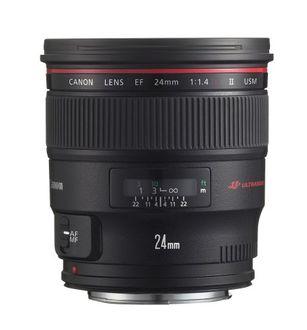 Canon EF 24mm f/1.4 L II USM Lens Price in India