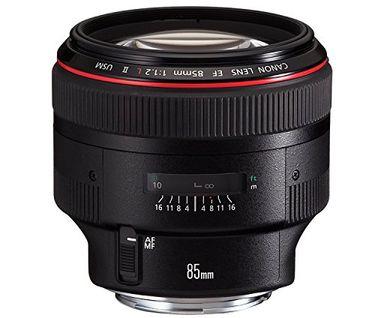 Canon EF 85mm f/1.2L II USM Lens Price in India