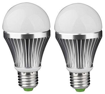 IPP 7W E27 Aluminium Body White LED Bulb (Pack of 2) Price in India