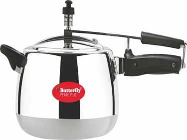 Butterfly Pearl Plus Aluminium 3 L Pressure Cooker Price in India