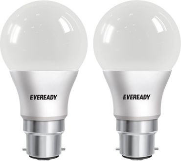 Eveready 5 W LED Cool Day Light Bulb (White, Pack of 2) Price in India