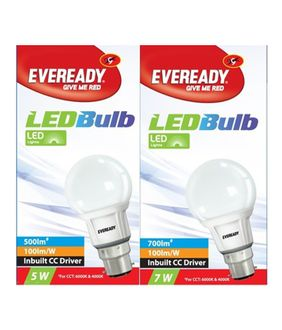 Eveready 7W 630L Golden Yellow LED Bulb (Pack of 2) Price in India
