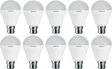 Havells Lumeno 5W White LED Bulbs (Pack of 10) Price in India