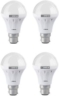 Oreva 4W White LED Bulb (Pack Of 4) Price in India