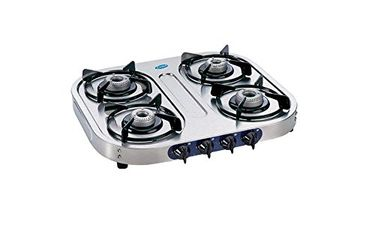 Glen GL-1044 SS AL 4 Burner Auto Ignition Gas Cooktop Price in India