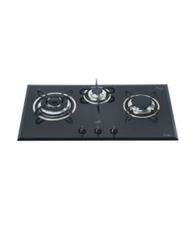 Glen GL-1073 TR 3 Burner Auto Ignition Gas Cooktop Price in India