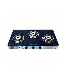 Bajaj Majesty CGX-SS 3 Burner Gas cooktop Price in India