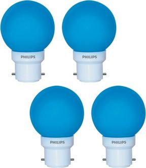 Philips  Deco Mini 0.5W LED Bulbs (Blue, Pack of 4) Price in India