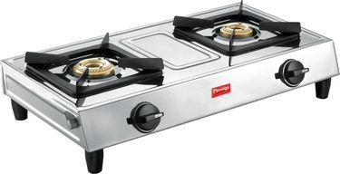Prestige Eco SS 2 Burner Gas Cooktop Price in India
