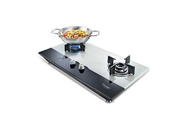 Prestige PHT02 Hobtop 2 Burner Auto Ignition Gas Cooktop Price in India