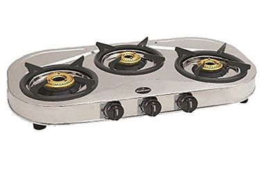 Sunflame Shakti Star 3 Burner Gas Cooktop Price in India