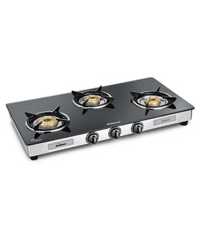 Sunflame Diamond 3B SS-GT 3 Burner Gas Cooktop Price in India