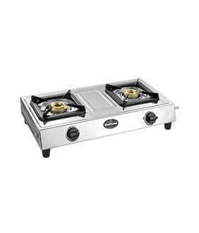 Sunflame Popular SS 2 Burner Gas Cooktop Price in India