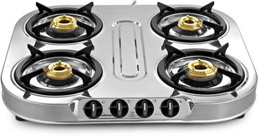Sunflame Spectra 4B SS 4 Burner Gas Cooktop Price in India
