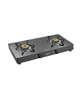 Sunflame Crystal 2B-BK Auto 2 Burner Gas Cooktop Price in India
