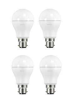 Duracell 9.5W B22 Led Bulb (Warm White, Set Of 4) Price in India