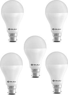 Bajaj 15W LED CDL B22 HPF Bulb (White, Pack of 5) Price in India